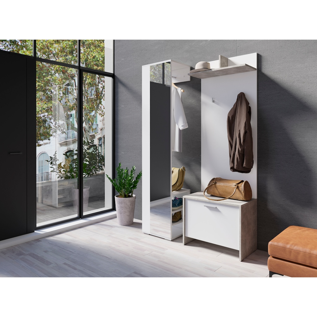 Homexperts Garderoben-Set »Benno«, (Spar-Set, 3 tlg.)