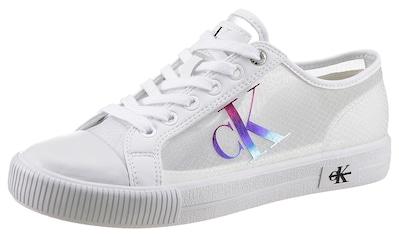 Calvin Klein Sneaker, mit leicht transparentem Schaft kaufen