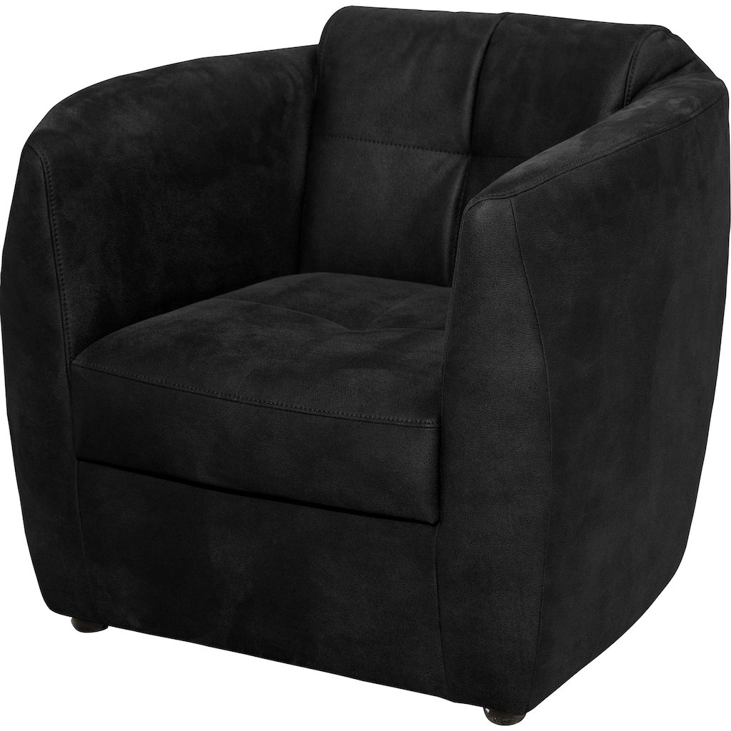 ADA trendline Sessel »Colin«, mit Steppungen an Sitz und Rücken