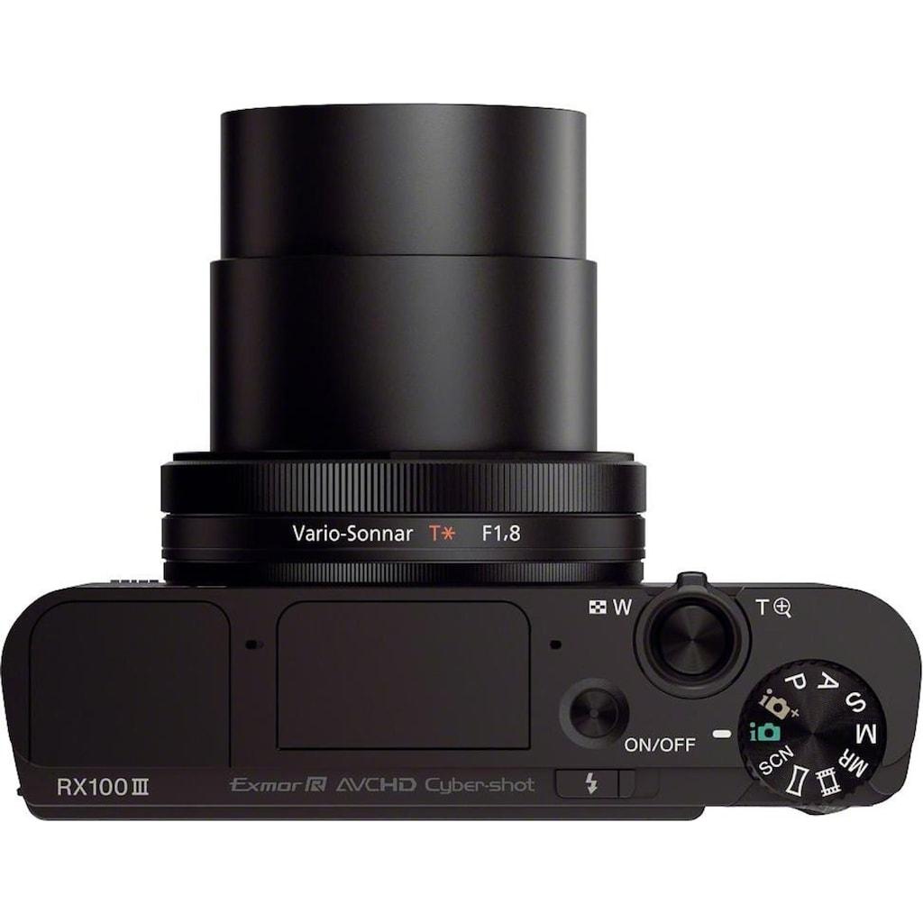 Sony Kompaktkamera »Cyber-Shot DSC-RX100M3«, Carl Zeiss Vario Sonnar T (F1.8-F2.8), 180° schwenkbares Xtra Fine WhiteMagic LC-Display