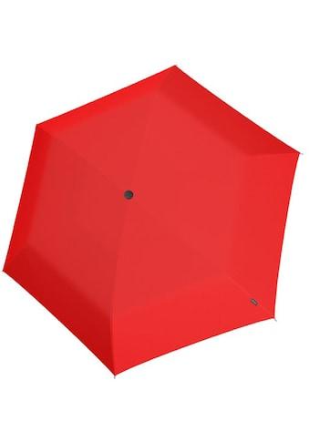 Knirps® Taschenregenschirm »Knirps U.200 Ultra Light Duo Red« kaufen
