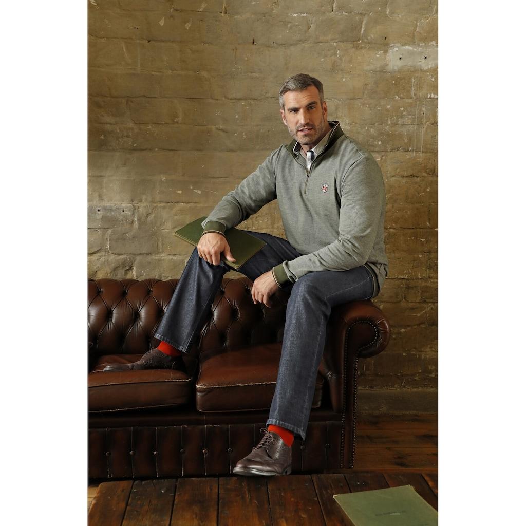Charles Colby 5-Pocket-Jeans »BARON DALE«, mit sportiver Struktur