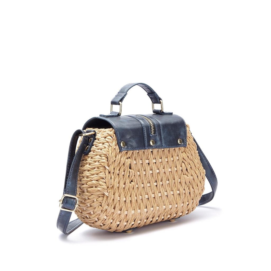 LASCANA Umhängetasche, Minibag aus Bast