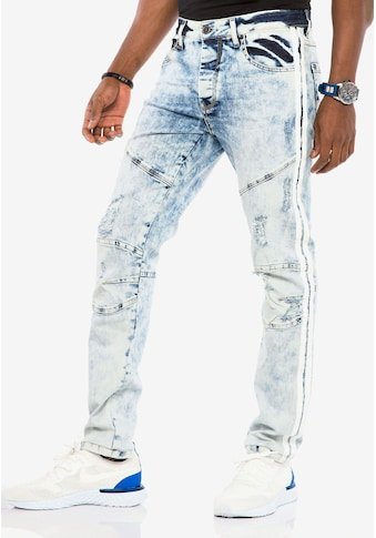 Cipo & Baxx Bequeme Jeans, im Used-Lookn Straight Fit kaufen