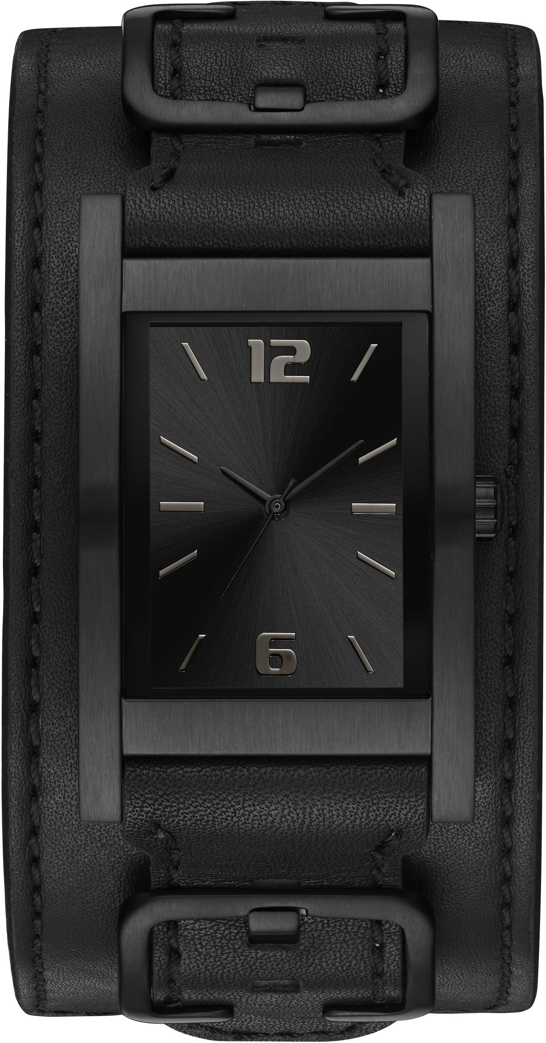 Guess Quarzuhr »SADDLE UP, W1165G2« | Uhren > Quarzuhren | Schwarz | GUESS