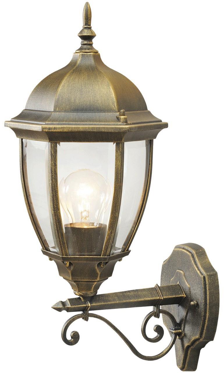 DeMarkt Außen-Wandleuchte Fabur, E27, 1 St., Tageslichtweiß