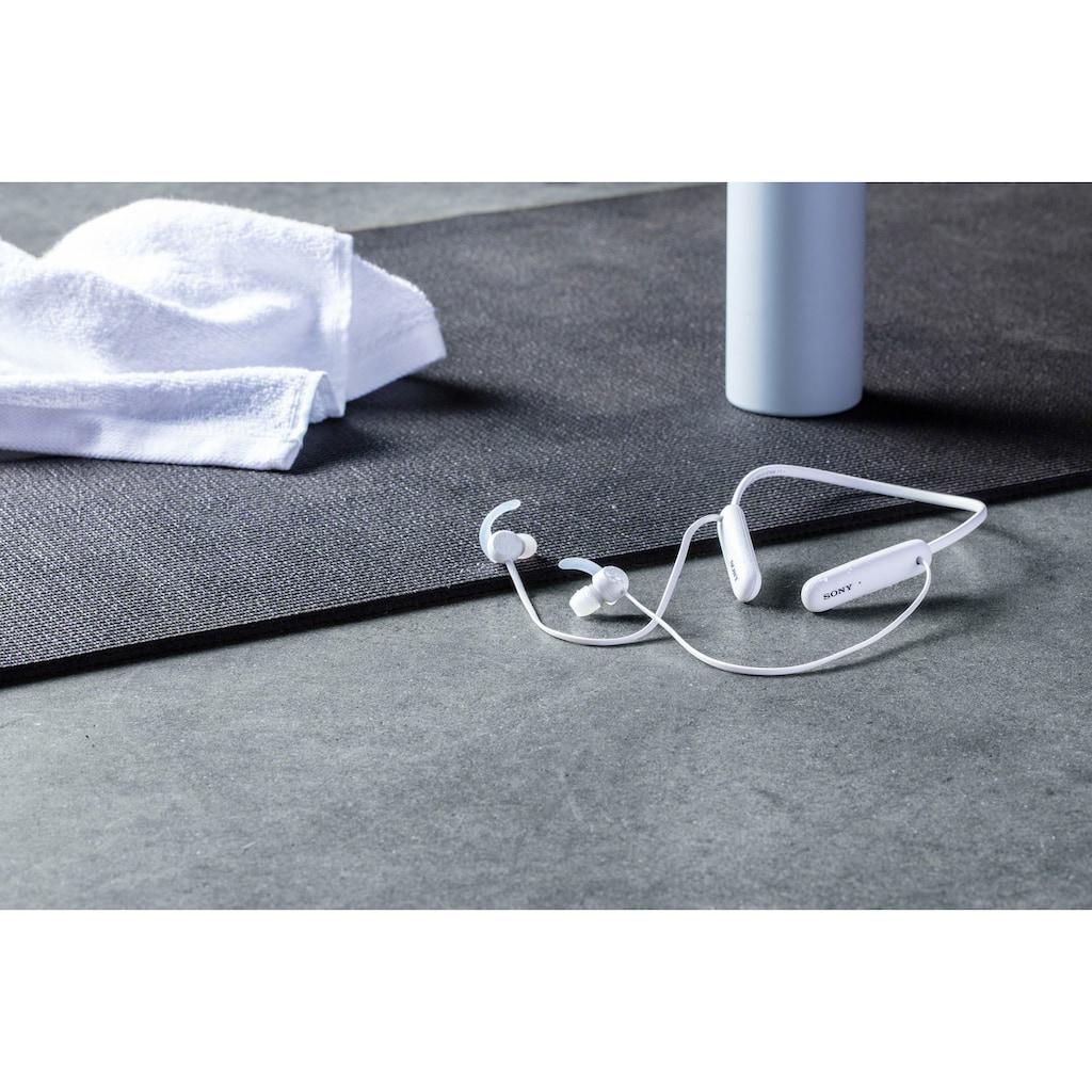Sony In-Ear-Kopfhörer »WI-SP510 Kabelloser«, Bluetooth, kompatibel mit Siri, Google Now-Freisprechfunktion-Sprachsteuerung, Headset mit Mikrofon
