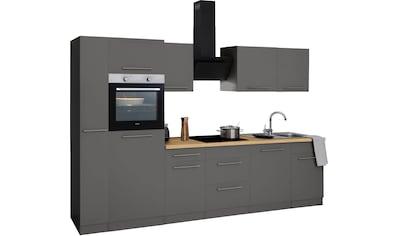 wiho Küchen Küchenzeile »Unna«, ohne E-Geräte, Breite 310 cm kaufen