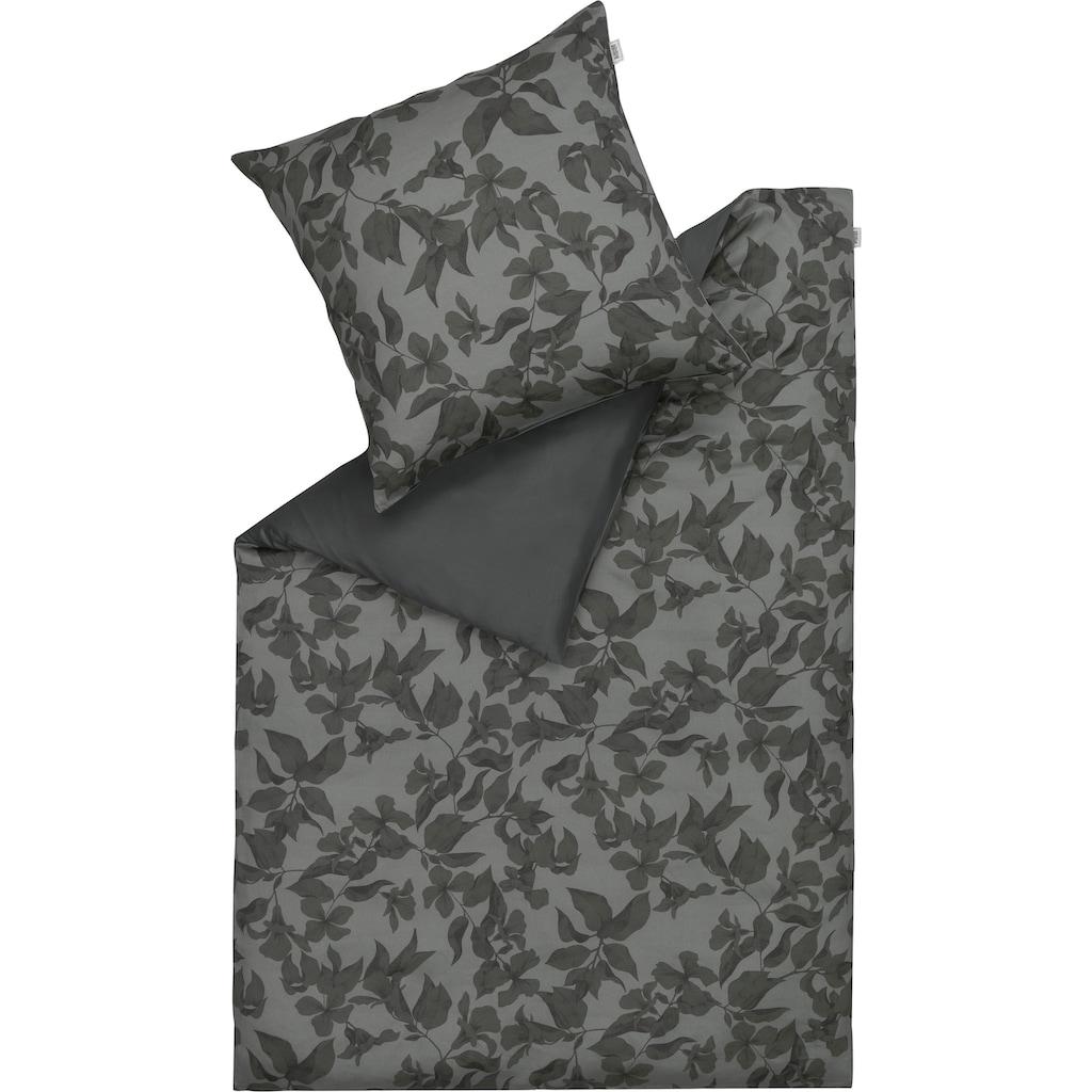 SCHÖNER WOHNEN-Kollektion Wendebettwäsche »Dotflower«, mit romantischem, floralem Dessin