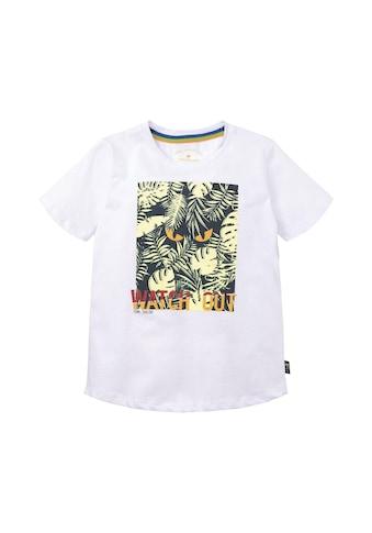 TOM TAILOR T - Shirt »T - Shirt mit großflächigem Print« kaufen