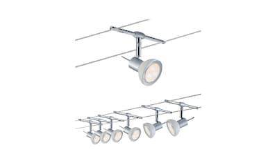 Paulmann,LED Deckenleuchte»Wohnzimmerlampe LED 6x4W Sheela 230/12V, Chrom matt/Opal 230/12V, Chrom matt/Opal«, kaufen