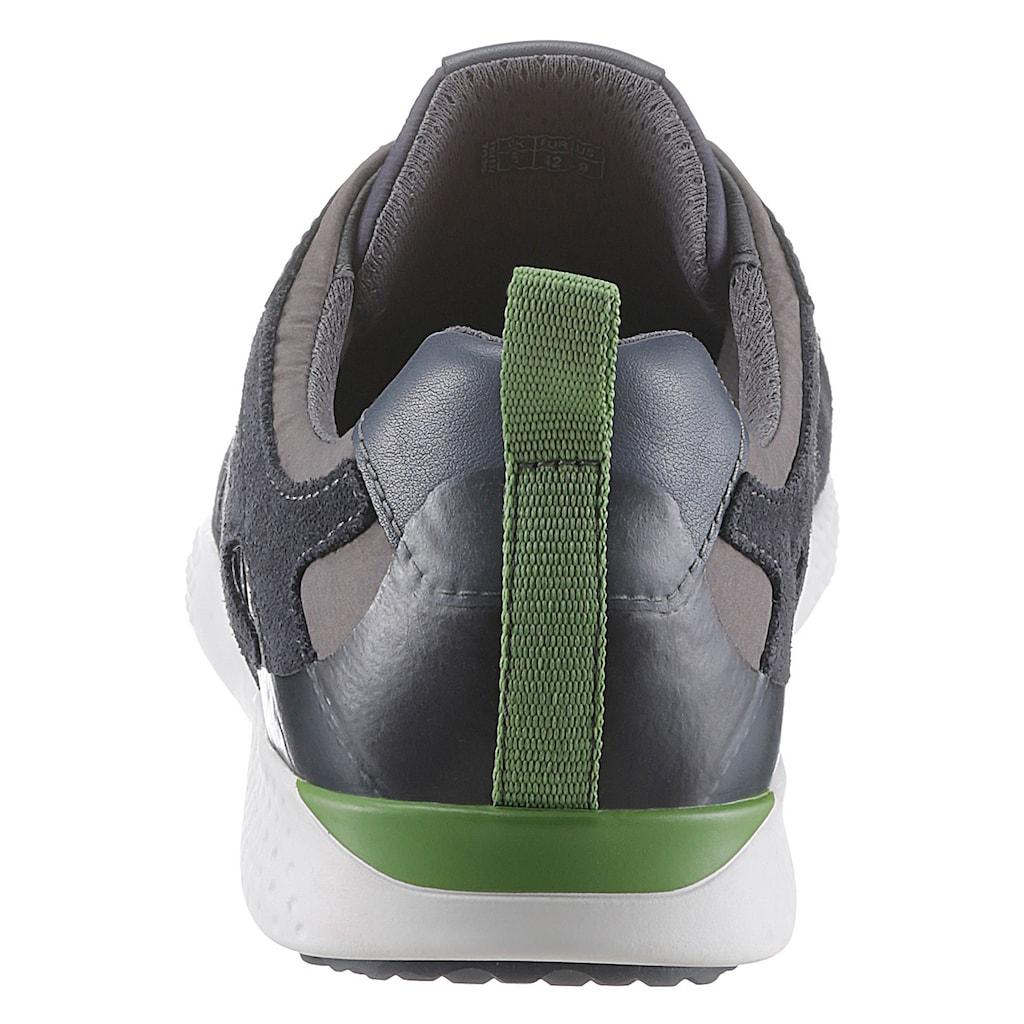 Geox Sneaker »Snake«, mit gepolsterter Lederinnensohle