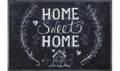 wash+dry by Kleen-Tex Fußmatte »Chalky Home«, rechteckig, 7 mm Höhe, Schmutzfangmatte,... kaufen