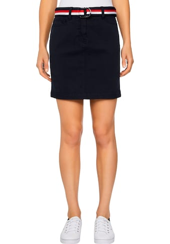 TOMMY HILFIGER Minirock »GMD COTTON TENCEL SLIM SKIRT« kaufen