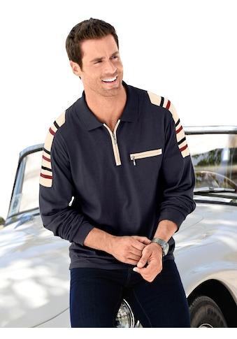 Catamaran Poloshirt mit Kontrastbändern im Schulterbereich kaufen