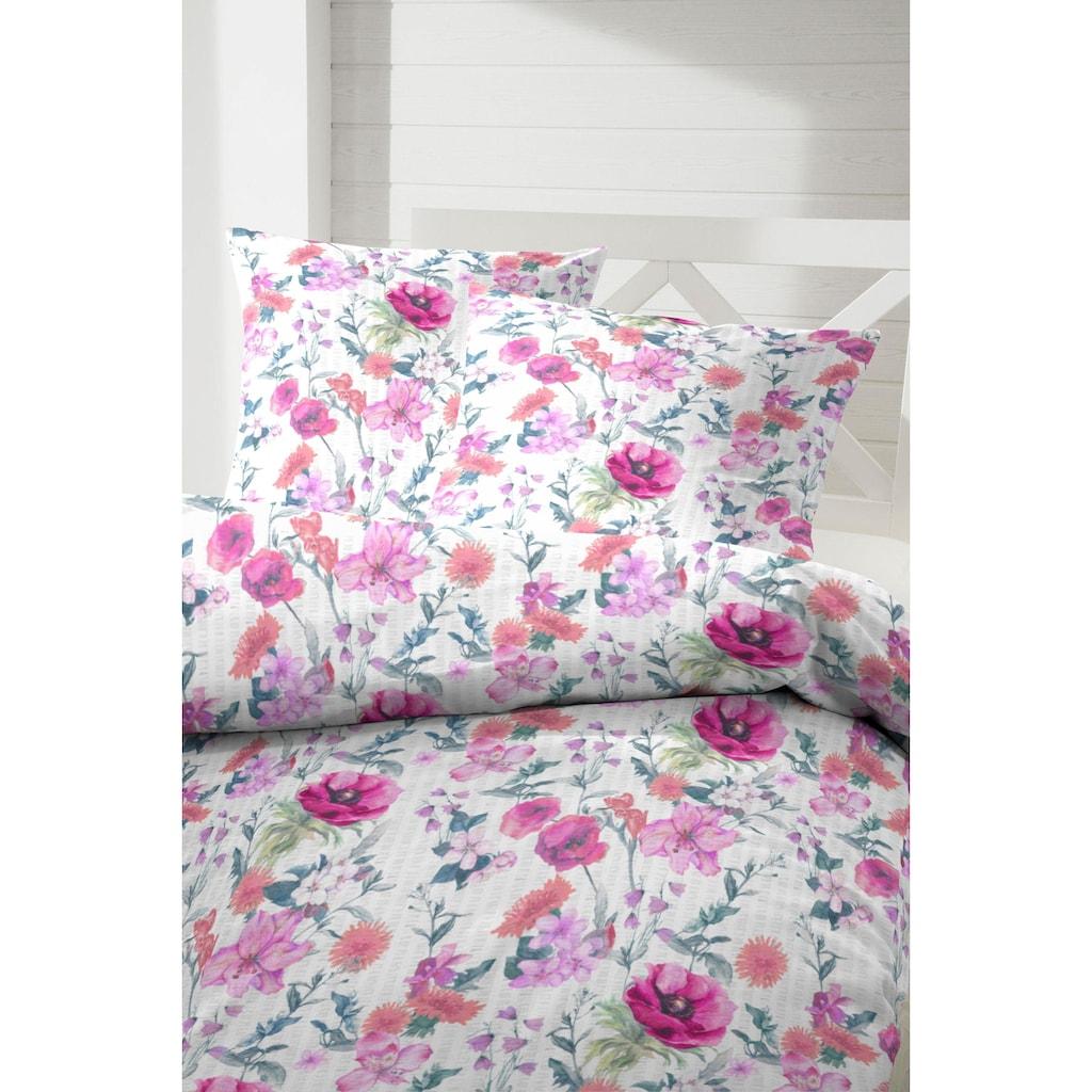 Primera Bettwäsche »Sommerwiese«, mit bunten Blumen