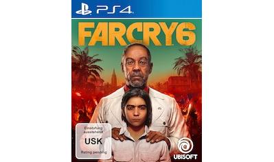 UBISOFT Spiel »Far Cry 6«, PlayStation 4 kaufen