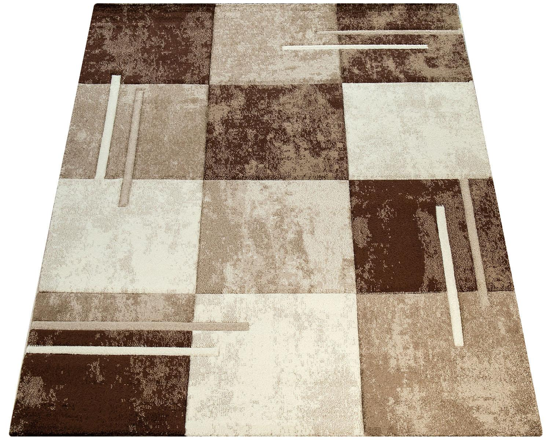 Teppich Diamond 663 Paco Home rechteckig Höhe 18 mm maschinell gewebt