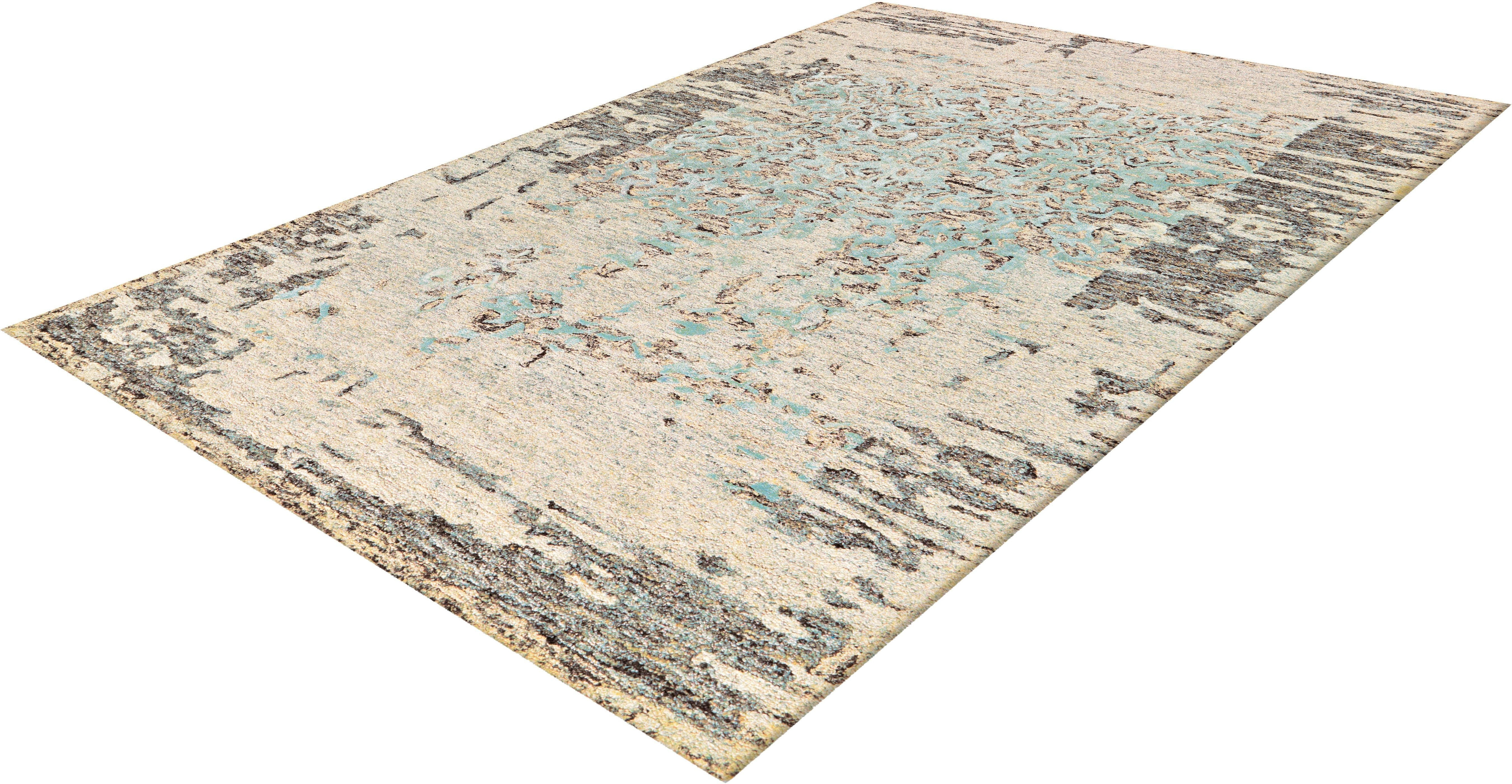Teppich Shailene 1006 calo-deluxe rechteckig Höhe 12 mm handgetuftet
