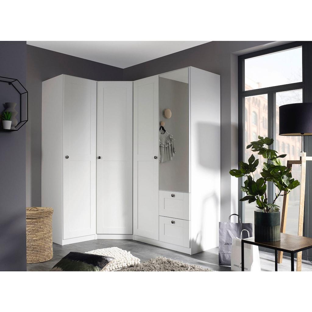 rauch ORANGE Schrank-Set »Skagen«, (3 tlg.), Eckschrank, 1- und 2-trg. Schrank mit Schubkästen und Spiegel