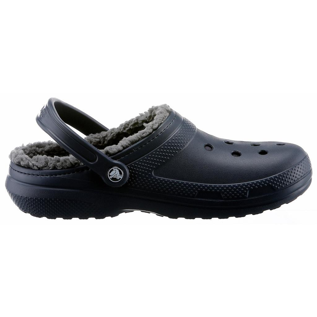 Crocs Clog »Classic Lined Clog«, mit kuscheligem Fellimitat