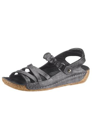 Gemini Sandale mit rutschhemmender PU - Laufsohle in Kork - Optik kaufen