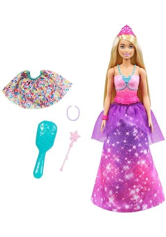 Barbie Anziehpuppe »Dreamtopia 2-in-1 Prinzessin & Meerjungfrau Puppe« kaufen