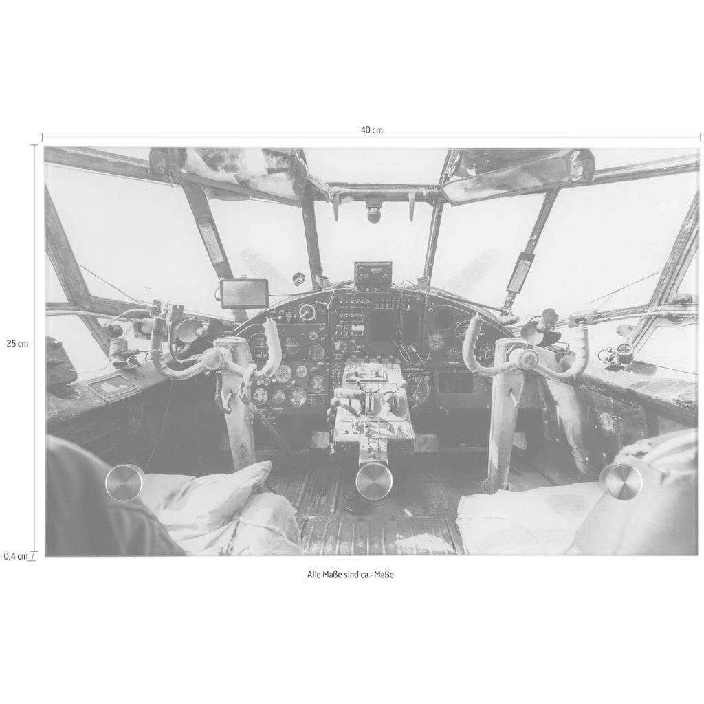 Spiegelprofi GmbH Garderobe »Flugzeugcockpit alt«