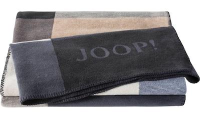 Joop! Wohndecke »MOSAIC«, mit geometrischem Mosaik-Muster in kontrastierenden Farben kaufen