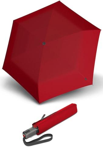 Knirps® Taschenregenschirm »TS.200 Slim Medium Duomatic red« kaufen