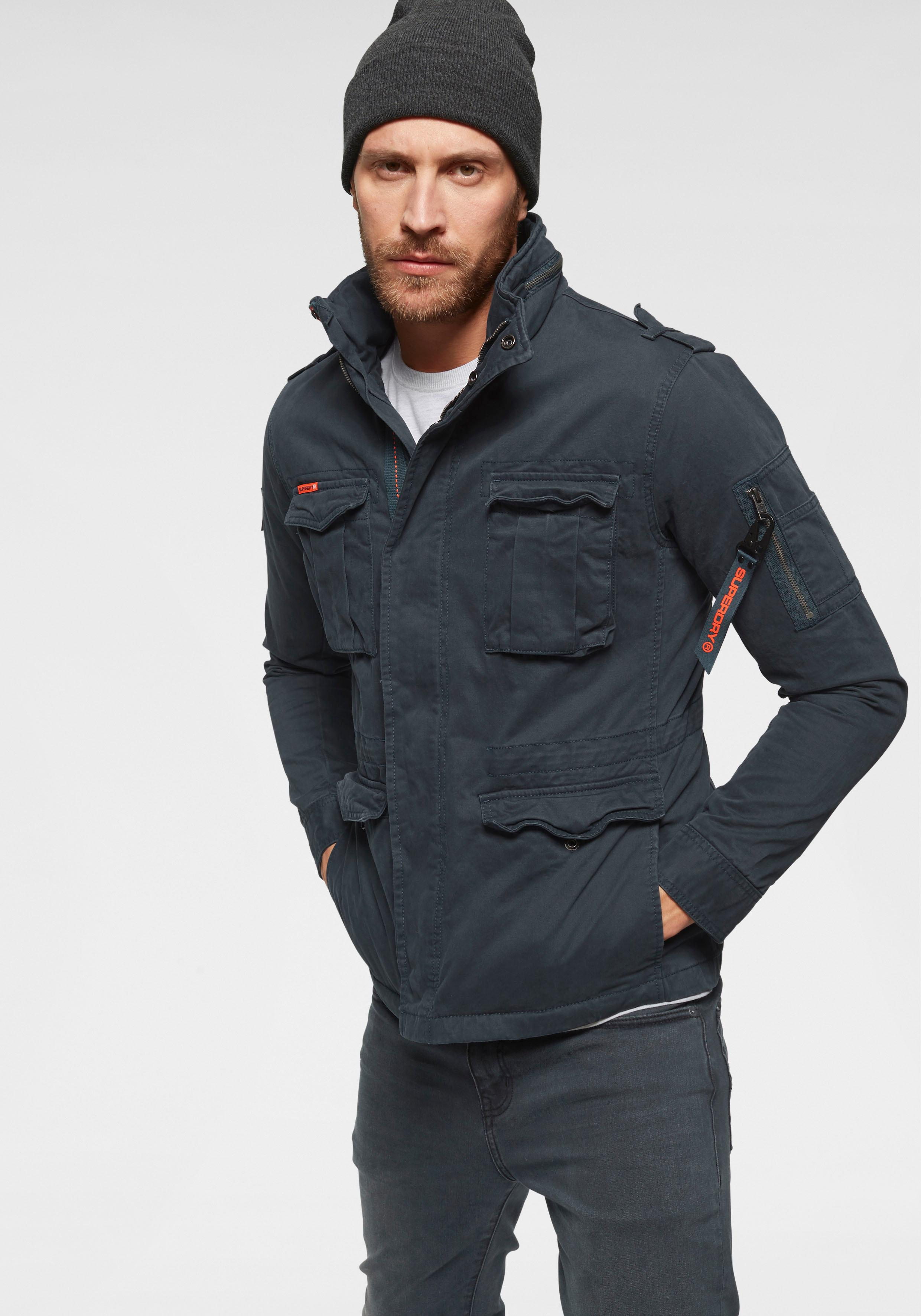 Superdry Fieldjacket | Bekleidung > Jacken > Fieldjackets | Blau | Superdry