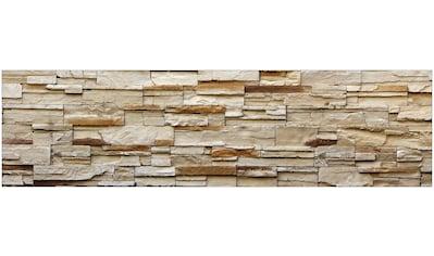 MySpotti Küchenrückwand »fixy Rustical Bricks«, selbstklebende und flexible... kaufen