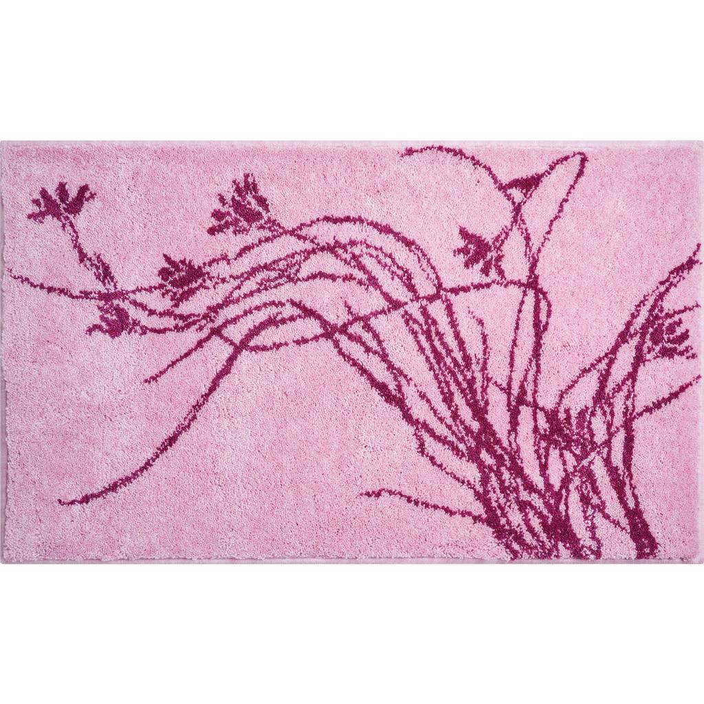 Grund Badematte »Lily«, Höhe 20 mm, rutschhemmend beschichtet, pflegeleicht