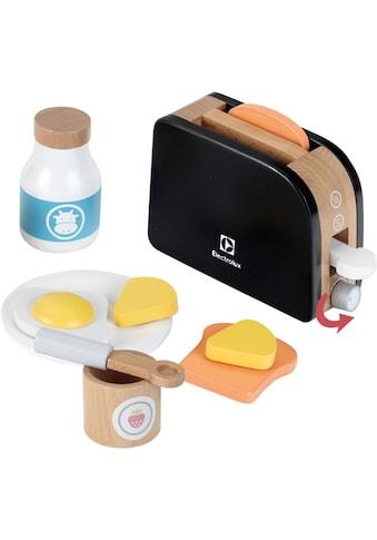 Klein Kinder-Toaster »Electrolux, Holz«, mit Toastscheiben aus Holz kaufen