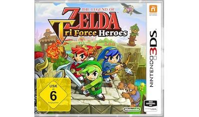 The Legend of Zelda: Tri Force Heroes Nintendo 3DS kaufen