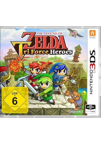 Nintendo Spiel »The Legend of Zelda: Tri Force Heroes«, Nintendo 3DS, Software Pyramide kaufen