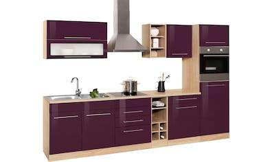 HELD MÖBEL Küchenzeile »Eton«, mit E-Geräten, Breite 300 cm kaufen