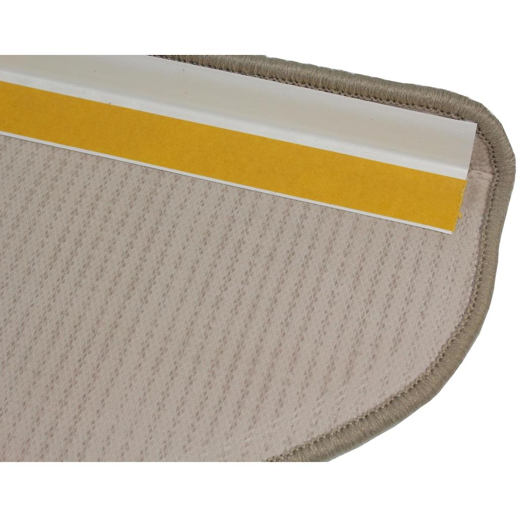 Dekowe Stufenmatte »Mara S2«, halbrund, 5 mm Höhe, 100% Sisal, große Farbauswahl, auch als Set mit 15 Stück erhältlich