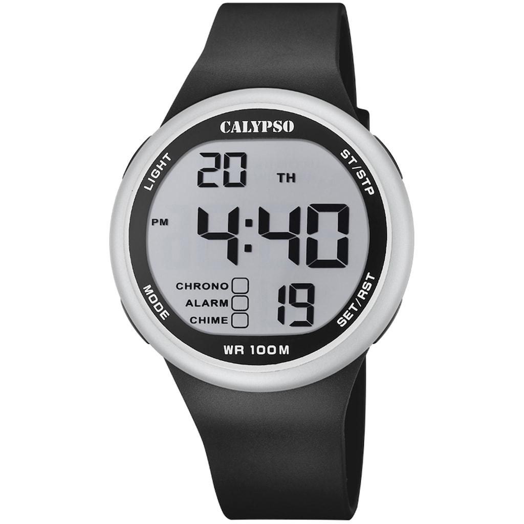 CALYPSO WATCHES Chronograph »Color Splash, K5795/2«