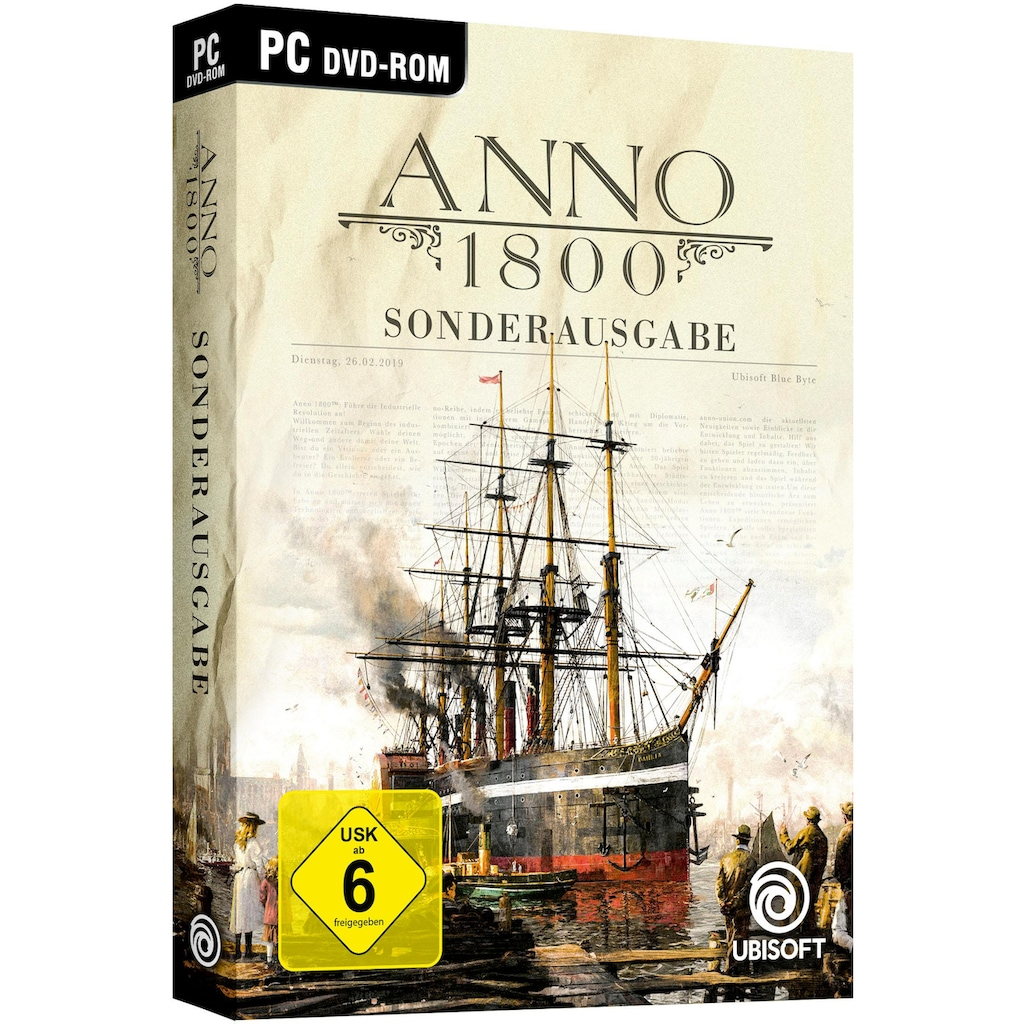 UBISOFT Spiel »ANNO 1800 Sonderausgabe«, PC