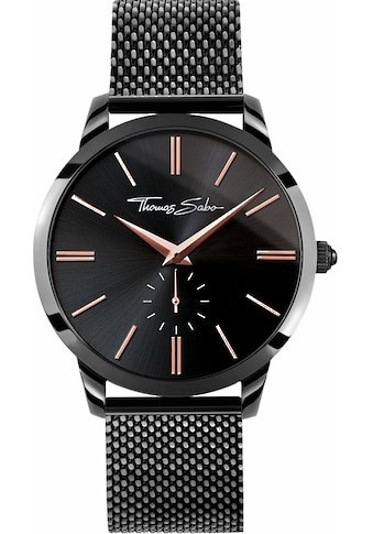 THOMAS SABO Quarzuhr »REBEL SPIRIT, WA0271 - 202 - 203« kaufen