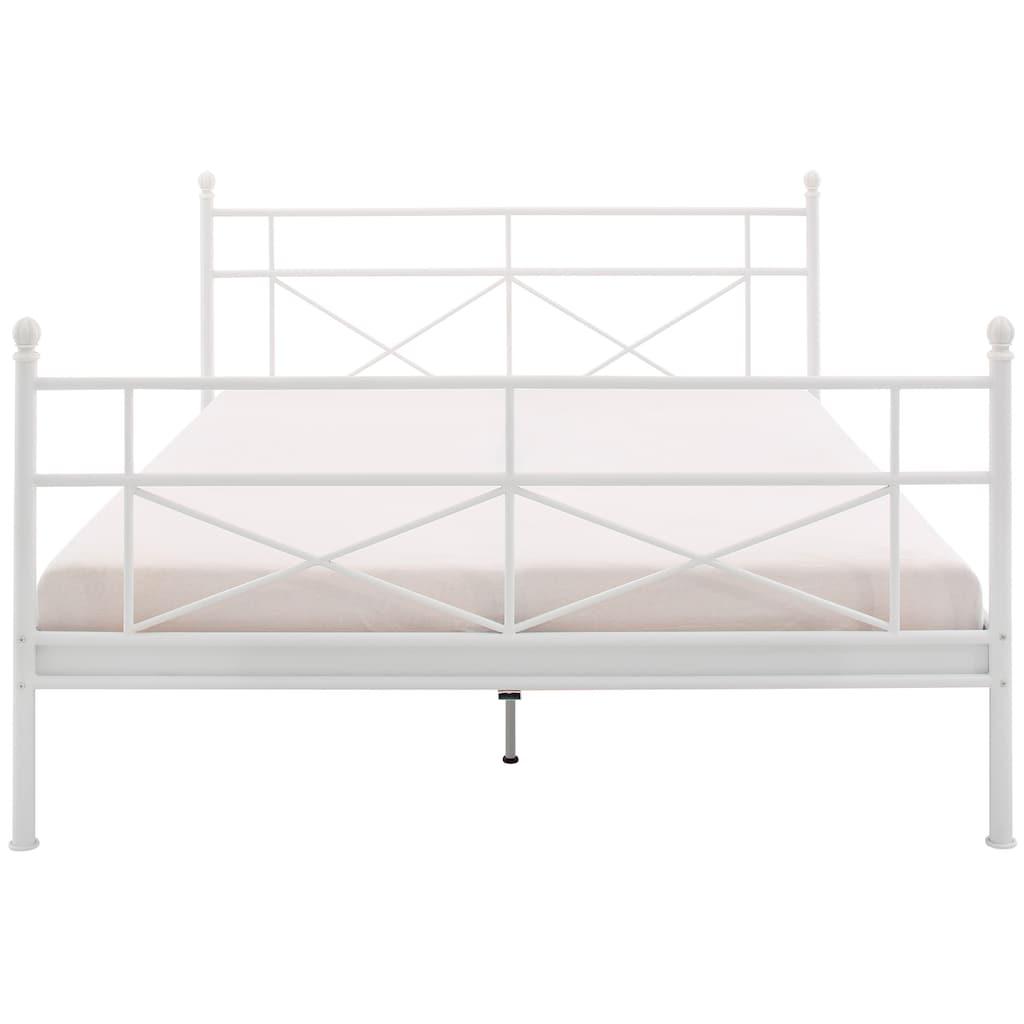 Home affaire Metallbett »Thora«, aus einem schönen Metallgestell, in verschiedenen Bettbreiten und verschiedenen Farben