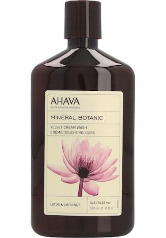 AHAVA Duschgel »Mineral Botanic Mineral Botanic Cream Wash Lotus« kaufen