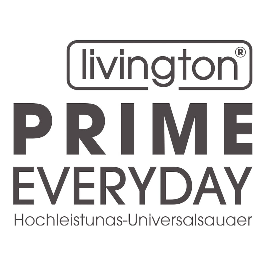 MediaShop Akku-Handstaubsauger »Livington Prime Everyday white«