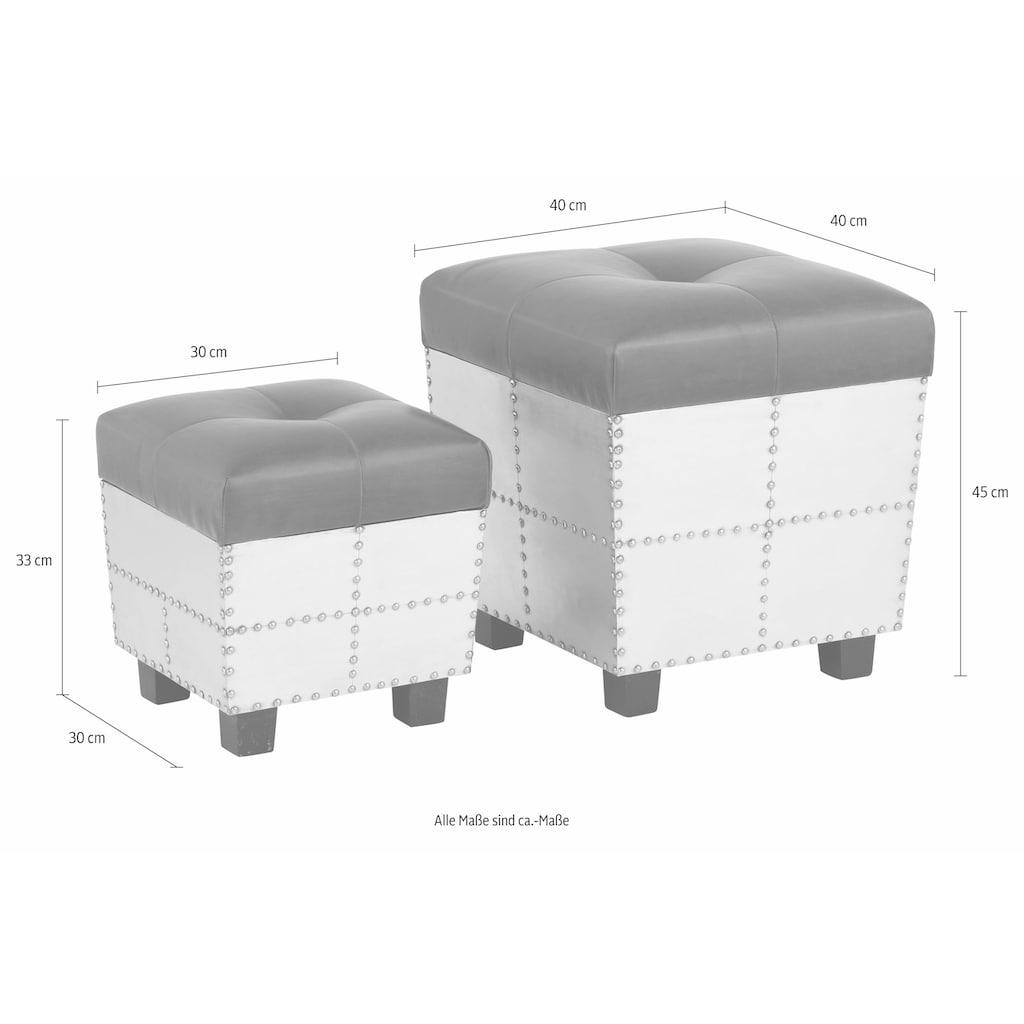 Home affaire Sitztruhe, mit aufklappbarer Sitzfläche
