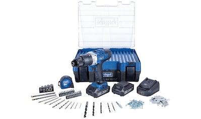 Scheppach Akku-Schlagbohrmaschine »DTB-20ProS«, (Set), inkl. 2x Akku, Ladegerät und... kaufen