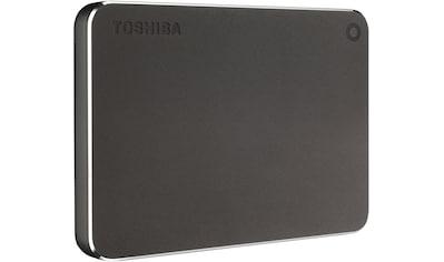Toshiba »Canvio Premium 1TB dark grey« externe HDD - Festplatte 2,5 '' kaufen