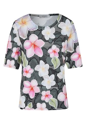Seidel Moden Shirt im sommerlichen Blumenlook kaufen