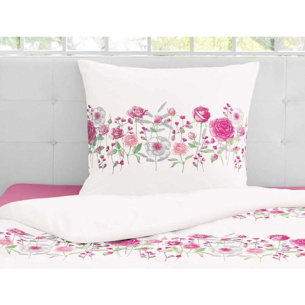 Irisette Bettwäsche »Capri-K 8084«, mit floraler Blumenbordüre