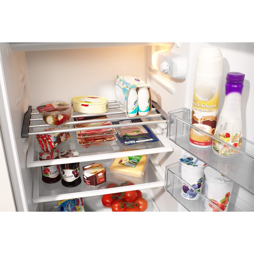 Ruco Spannregal, Aluminium/Kunststoff, (Zusatz-Kühlschrankboden), in der Breite verstellbar